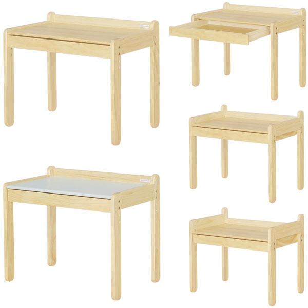 【送料無料】 【複数購入で3~5%OFF!】リトルデスク (NA/GY) キッズデスク キッズテーブル お絵かき机 こども 子ども テーブル キッズデスク ミニテーブル 子供用テーブル キッズ用テーブル ベージュ 木製