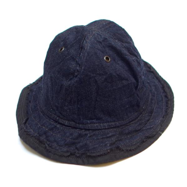 CORONA(コロナ)/HAND MADE UTICA HAT by LUCY TAILOR:8.5oz DENIMハンドメイドハット