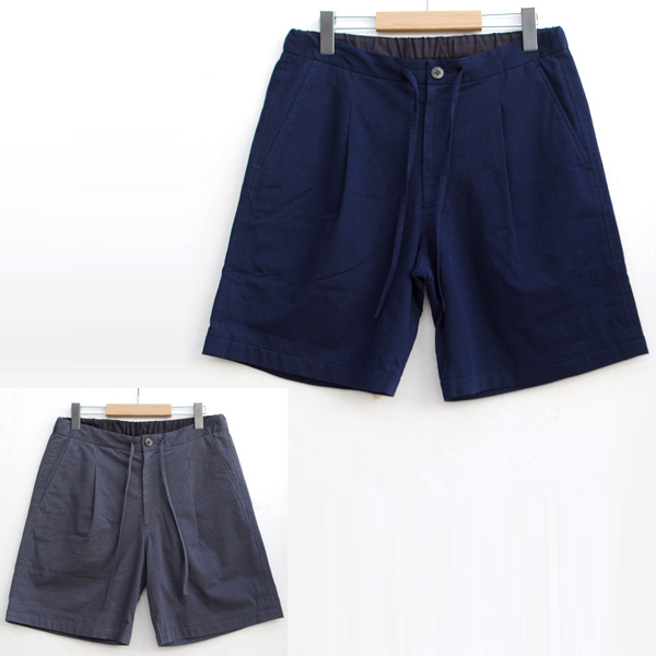 【SALE】comm.arch.(コム・アーチ) KNITTED AIRY SHORTS / ショートパンツ