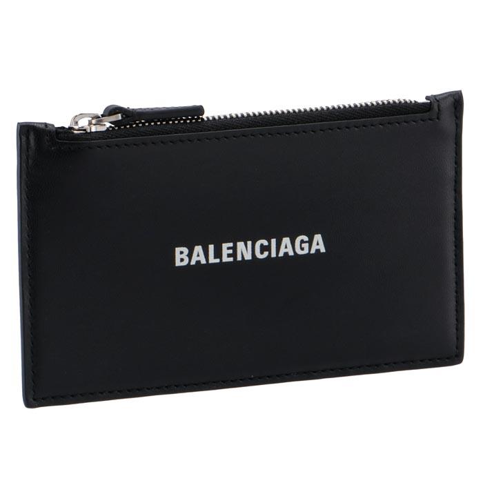 バレンシアガ カードホルダーコインケース ミニ財布 フラグメントケース 贈り物 お得セット ブラック BLACK 1I353 1090 BALENCIAGA 2020年秋冬新作 594311