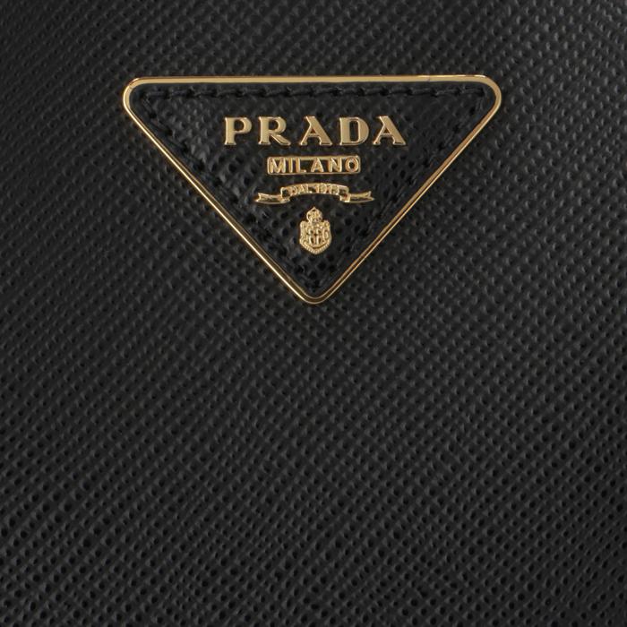 プラダ PRADA 2020年春夏新作 ショルダーバッグ パニエ スモール サフィアーノ レザーバッグ ブラック 1BA217OOO 2ERX LJ4R5jq3A4L