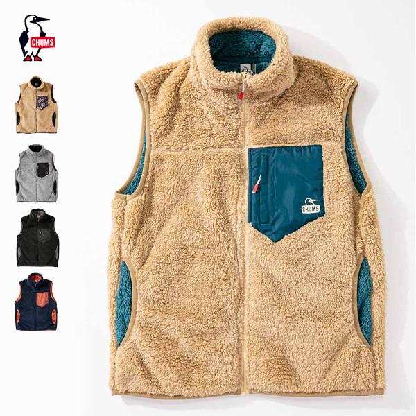 『2020秋冬』 『ノベルティ対象』 CHUMS チャムス / Bonding Fleece Vest ボンディングフリースベスト 『アウター / フリース / ベスト / ユニセックス』 『CH04-1243』 『CH14-1243』 『2020秋冬』 『クーポン対象外』