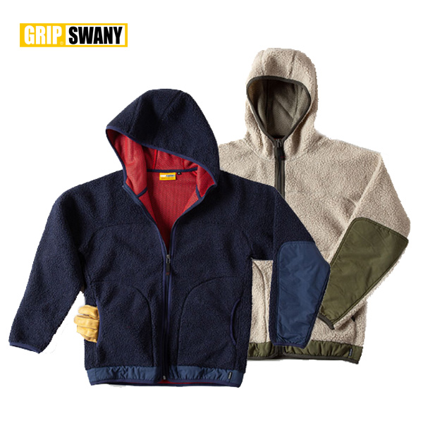 GRIP SWANY / グリップスワニー FLEECE BOA PARKA フリースボアパーカー (GSC-25) (2018秋冬) アウトドア