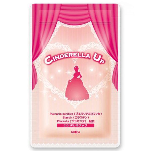シンデレラアップ 3袋(180粒入 約3ヶ月分) プエラリアプラセンタ エラスチン