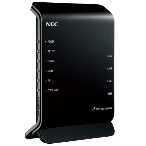 在庫あり 爆売り メーカー直送 14時までの注文で当日出荷可能 NEC PA-WG1200HS4 Aterm 無線LANルーター 5対応 Wi-Fi WG1200HS4