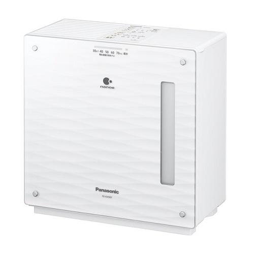 【長期保証付】パナソニック FE-KXS07-W(ミスティホワイト) 気化式加湿器 木造12畳/プレハブ19畳