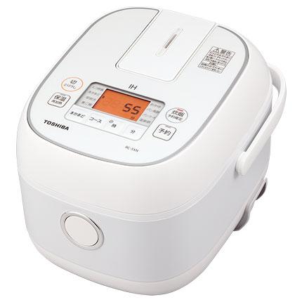 東芝 RC-5XN-W ホワイト 3合 2020春夏新作 IHジャー炊飯器 未使用