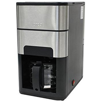 【長期保証付】丸隆 ON-01-BK(ブラック) Ondo 石臼式全自動コーヒーメーカー ON01BK