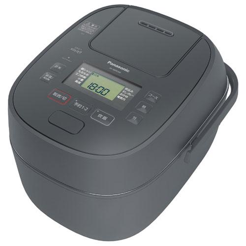 パナソニック SR-MPB100-H(グレー) おどり炊き 可変圧力IHジャー炊飯器 5.5合