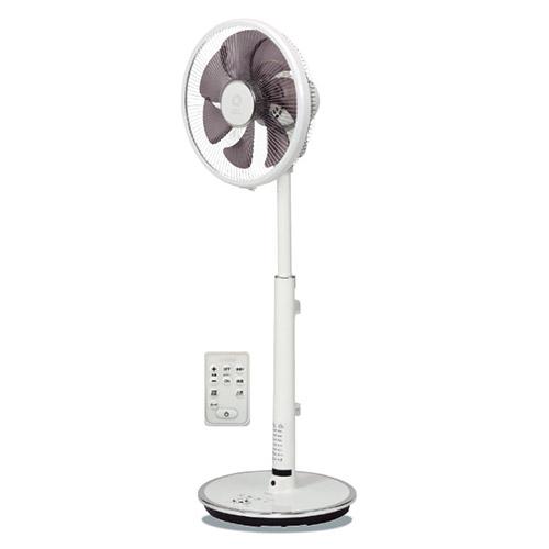 【長期保証付】トヨトミ FS-DS30KHR-W(ホワイト) 30cmDCタッチストップセンサー人感センサー付ハイポジション扇風機 リモコン付