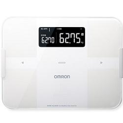 【長期保証付】オムロン OMRON HBF-255T-W(ホワイト) 体重体組成計 カラダスキャン HBF255TW