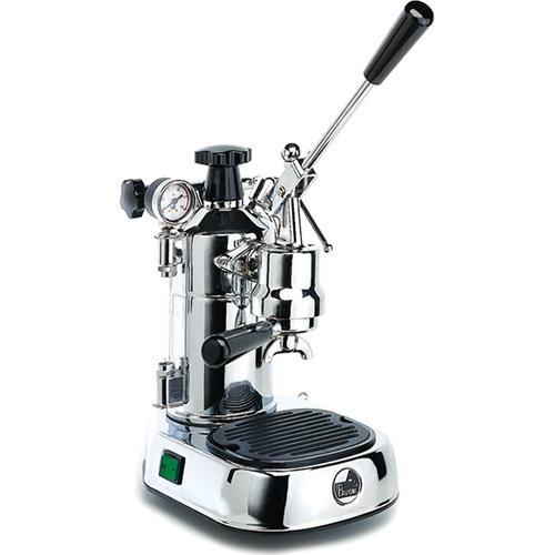 ラ・パボーニ La Pavoni PLHレーニョ(シルバー) エスプレッソコーヒーマシン プロフェッショナル ステンレス&ウッド PLH