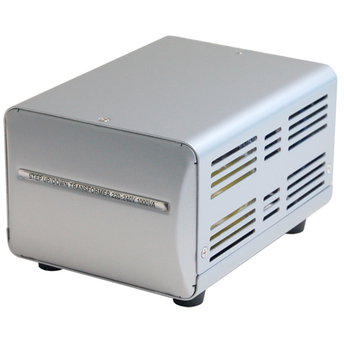 カシムラ NTI-18 海外国内用薄型変圧器220-240V/1000VA