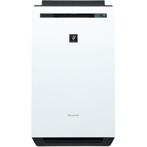 シャープ KC-HD70-W(ホワイト) プラズマクラスター 除加湿空気清浄機 空気清浄8畳/加湿18畳/除