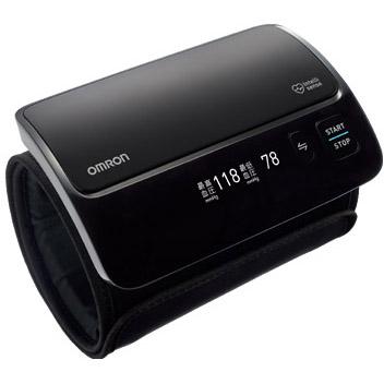オムロン OMRON 上腕式血圧計 HEM-7600T-BKN ブラック HEM7600TBKN