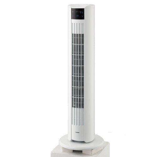 ツインバード工業 EF-D912W(ホワイト) タワーファン リモコン付 EFD912Wひんやり 熱対策 アイス 冷感 保冷 冷却 熱中症 涼しい クール 冷気