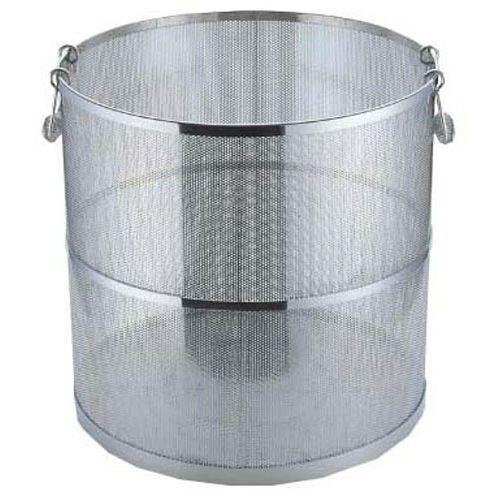 三宝産業 UK 18-8エコクリーン パンチング丸型スープ取ざる 39cm用