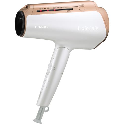 日立 HITACHI HD-NS910-W(パールホワイト) ナノイオンドライヤー Hair CRiE Plus+(ヘアクリエ プラス) HDNS910W