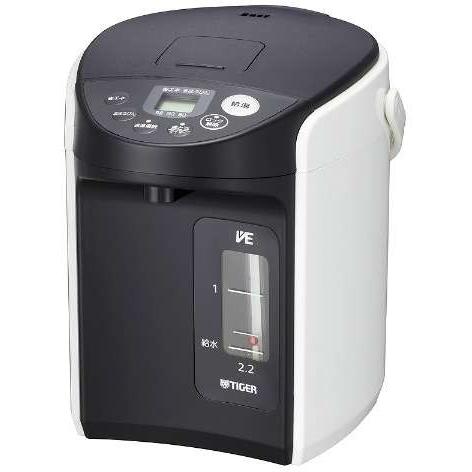 PIQ-A220-W(ホワイト) とく子さん VE電気まほうびん 2.2L