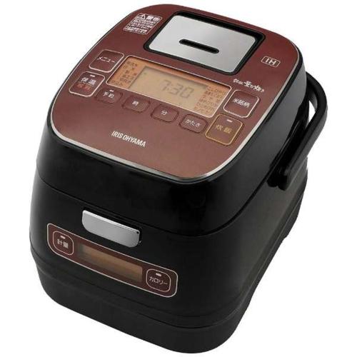 【長期保証付】KRC-ID30-R 銘柄量り炊き IHジャー炊飯器 3合
