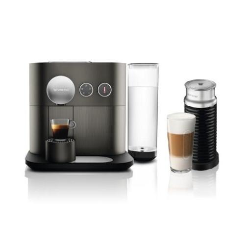 ネスレ Nestle D80GRA3B(グレー) コーヒーメーカーネスプレッソエキスパートバンドルセット D80GRA3B