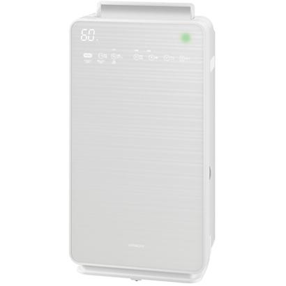 日立 HITACHI EP-NVG90-W(パールホワイト) 自動おそうじ クリエア 加湿空気清浄機 空気清浄42畳/加湿22畳 EPNVG90