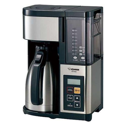 【長期保証付】象印 ZOJIRUSHI EC-YS100(ブラック) 珈琲通 コーヒーメーカー ECYS100
