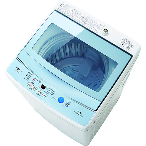 【長期保証付】AQW-GS50F-W(ホワイト) 全自動洗濯機 上開き 洗濯5kg
