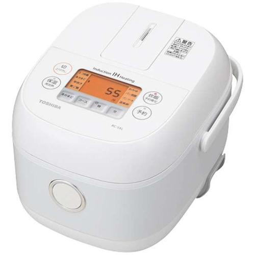 東芝 TOSHIBA RC-5XL-W(ホワイト) IHジャー炊飯器 3合 RC5XL