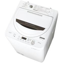 【長期保証付】ES-GE5B-T(ブラウン) 全自動洗濯機 上開き 洗濯5.5kg