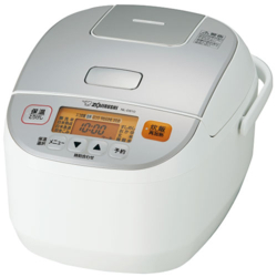 象印 ZOJIRUSHI NL-DS10-WA(ホワイト) 極め炊き マイコン炊飯ジャー (5合) NLDS10WA