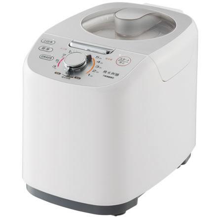 ツインバード工業 MR-E751W(ホワイト) 精米御膳 コンパクト精米機 5合 MRE751W かくはん式 玄米/白米/胚芽米