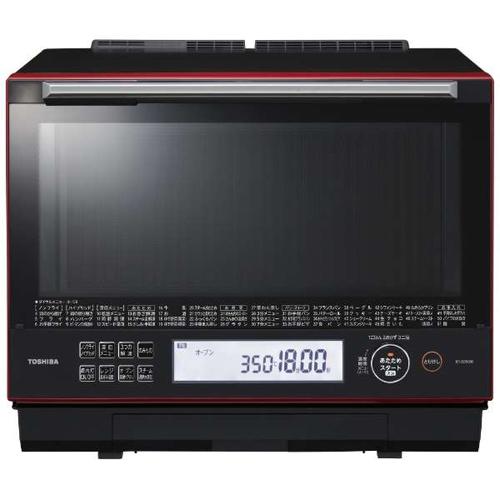 【長期保証付】東芝 ER-SD5000-R(グランレッド) 石窯ドーム 過熱水蒸気オーブンレンジ 30L
