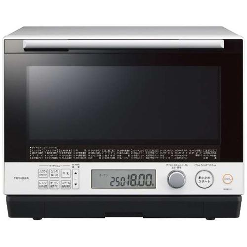 【長期保証付】東芝 TOSHIBA ER-SD100-W(グランホワイト) 石窯ドーム 過熱水蒸気オーブンレンジ 30L ERSD100W