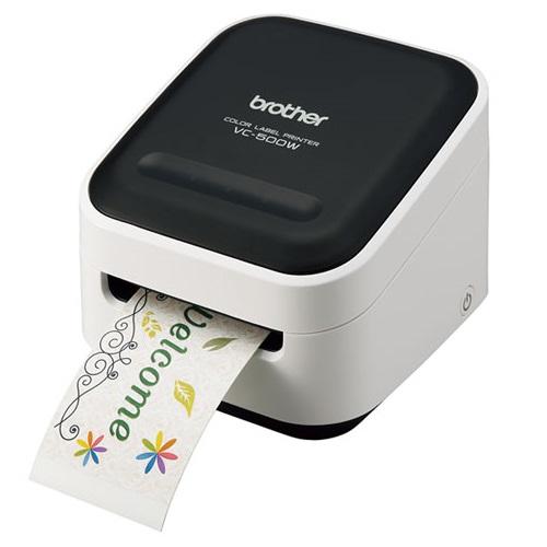 【長期保証付】ブラザー Color P-touch VC-500W VC-500W P-touch Color 感熱ラベルプリンター, チョウカイマチ:8975e3ff --- data.gd.no