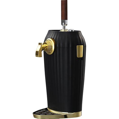 GREEN HOUSE GH-BEERL-BK(ブラック) 2缶型ビールサーバー 2018 GHBEERLBKひんやり 熱対策 アイス 冷感 保冷 冷却 熱中症 涼しい クール 冷たい