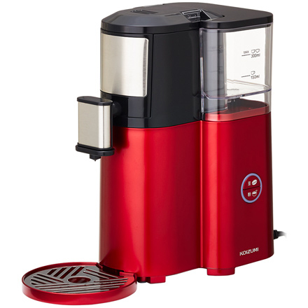 コイズミ KOIZUMI KKM-1001/R(レッド) 全自動コーヒーメーカー KKM1001R