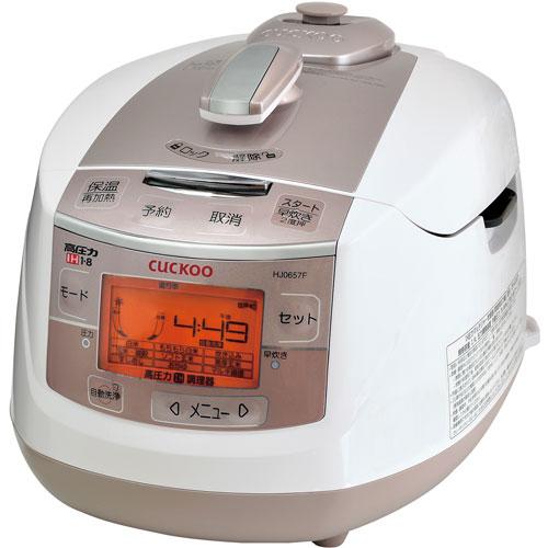 クック CUCK00 CRP-HJ0657F(ホワイト) CUCKOO 玄米発芽炊飯器 6合 CRPHJ0657F 人気 おすすめ 炊飯ジャー ジャー炊飯器 ダイエット 酵素玄米 寝かせ玄米 玄米