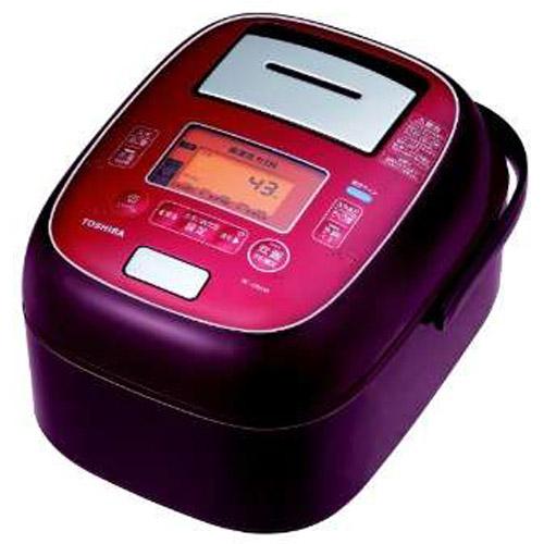 【長期保証付】東芝 TOSHIBA RC-10VXM-RS(ディープレッド) 合わせ炊き 真空圧力IHジャー炊飯器 5.5合 RC10VXMRS