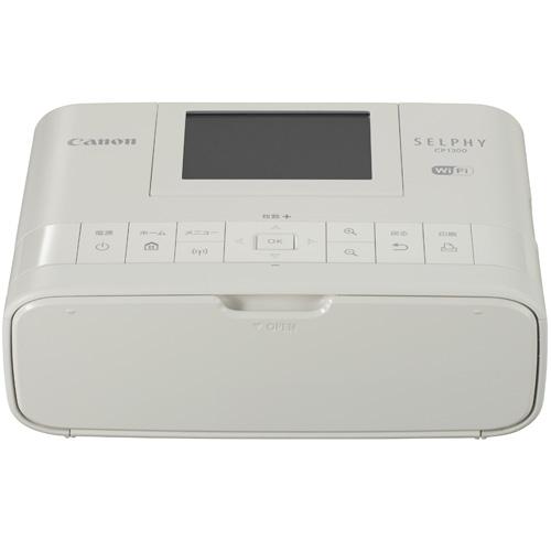【長期保証付】CANON SELPHY(セルフィー) CP1300(ホワイト) コンパクトフォトプリンター