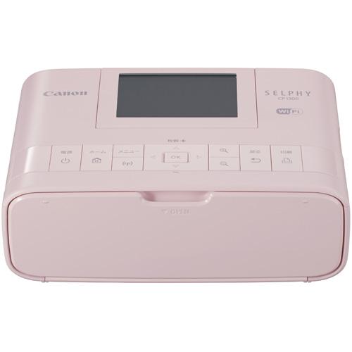 CANON SELPHY(セルフィー) CP1300(ピンク) コンパクトフォトプリンター