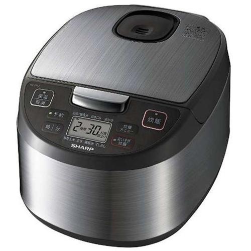 在庫あり 注目ブランド セール価格 14時までの注文で当日出荷可能 シャープ SHARP KS-S10J-S 5.5合 KSS10JS シルバー ジャー炊飯器