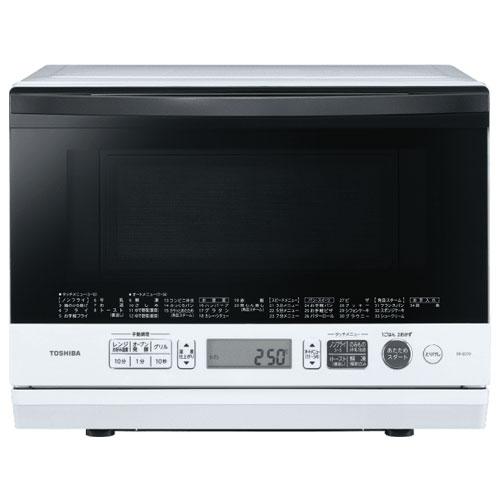 【長期保証付】東芝 TOSHIBA ER-SD70-W(グランホワイト) 石窯ドーム 角皿式スチームオーブンレンジ 26L ERSD70W