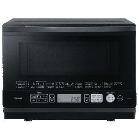 東芝 TOSHIBA ER-SD70-K(ブラック) 石窯ドーム 角皿式スチームオーブンレンジ 26L ERSD70K