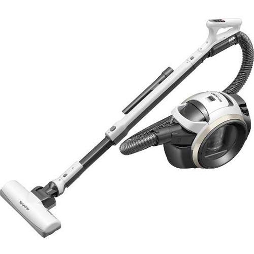 シャープ SHARP EC-MS21T-W(ホワイト系) 遠心分離サイクロン掃除機 ECMS21T