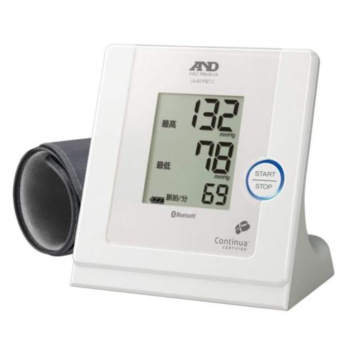 A&D エー・アンド・デイ UA-851PBT-C-W(ホワイト) Bluetooth内蔵 パーソナル血圧計 UA851PBTCW