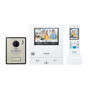 【長期保証付】パナソニック VL-SWD505KF 外でもドアホン ワイヤレスモニター付テレビドアホン