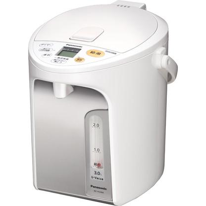 【長期保証付】パナソニック Panasonic NC-HU304-W(ホワイト) マイコン沸騰ジャーポット 3L NCHU304W