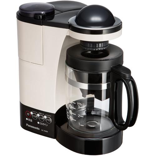 パナソニック Panasonic NC-R400-C(カフェオレ) ミル付き浄水コーヒーメーカー NCR400
