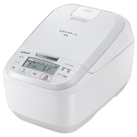【在庫あり】14時までの注文で当日出荷可能! 日立 RZ-X100DM-W(パールホワイト) 圧力スチームIH炊飯器 5.5合